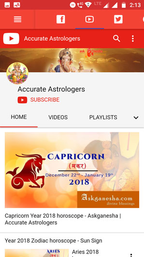 Askganesha on Youtube Channel